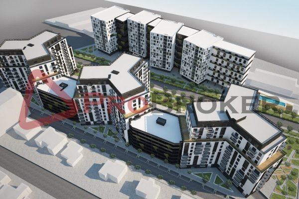"""OKAZION!!! Apartament 3+1   Ne Shitje   Ish Fusha Aviacionit / Rezidenca """"Turdiu"""""""