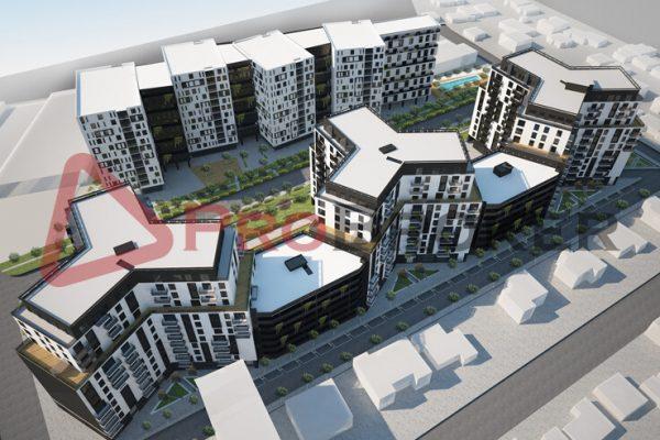 """Apartament 1+1   Ne Shitje   Ish Fusha Aviacionit / Rezidenca """"Turdiu"""""""
