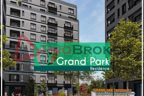APARTAMENT 1+1 NË SHITJE TEK ISH FUSHA AVIACIONIT /  Grand Park Residence