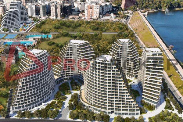 Apartament 2+1 | Ne Shitje |  Liqeni Artificial / Lake View Residence