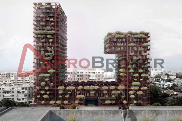 "OKAZION !!! Apartament 1+1 | Ne Shitje | Rr. Kavajes / ""Tirana Garden Building"""